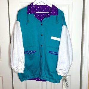 Vintage Cabin Creek Reversible Jacket Windbreaker